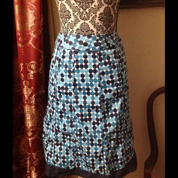 MIDI blue and white polka dot skirt Skirt with dark,and light blue polka dots Cato Skirts Midi
