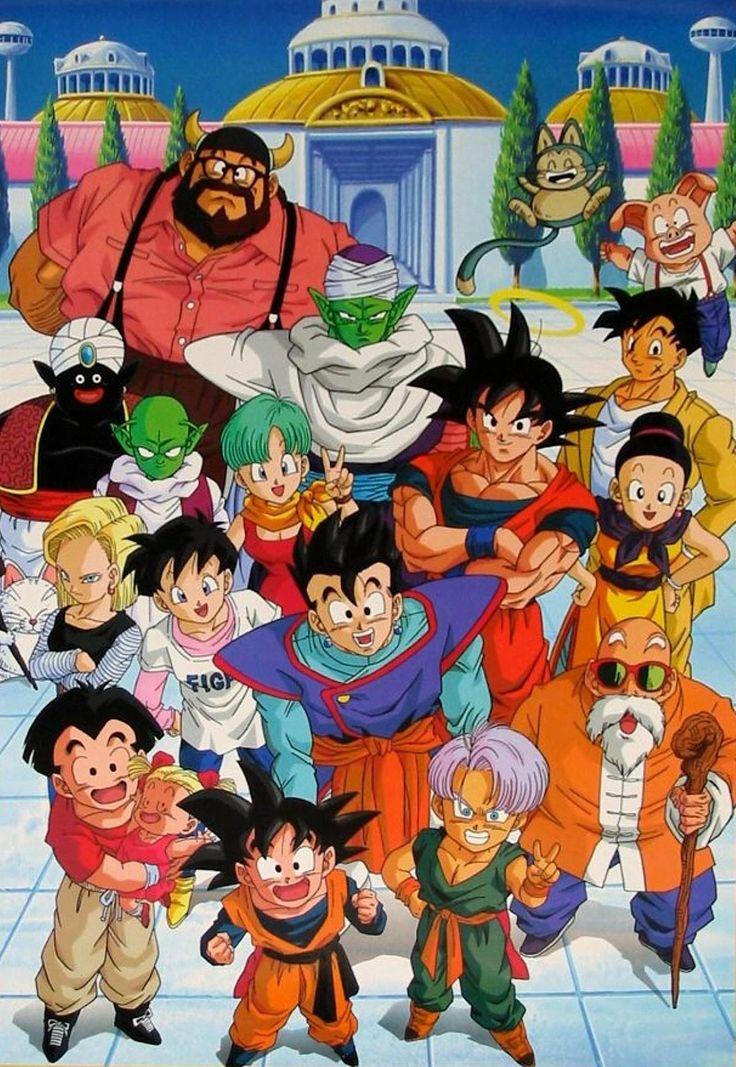 1000 images about anime on pinterest totoro gurren - Goku e bulma a letto ...