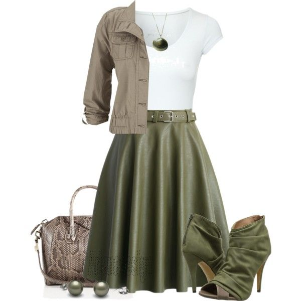Chicwish Faux Leather Belted Midi Skirt by arjanadesign on Polyvore featuring Jane Norman, maurices, Chicwish, Michael Antonio and Givenchy