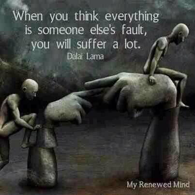 Accept responsibilty - Dalai Lama #Quotes