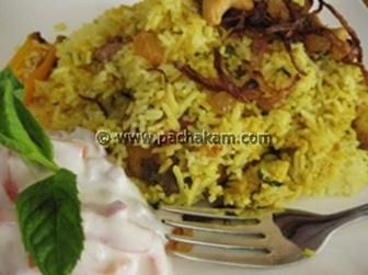 Kerala Fish Biriyani with King Fish in Coconut Korma