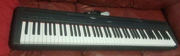 Yamaha P-95 Digital 88 Weighted-Key Piano/Keyboard w/ Pedal- Free Shipping!