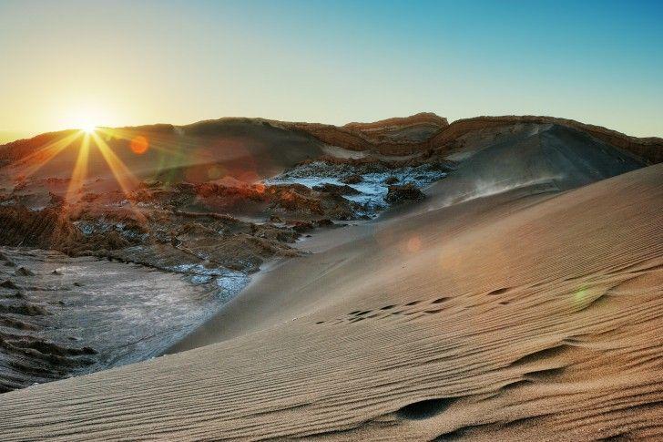 Atacama Desert Moon Valley, Chile