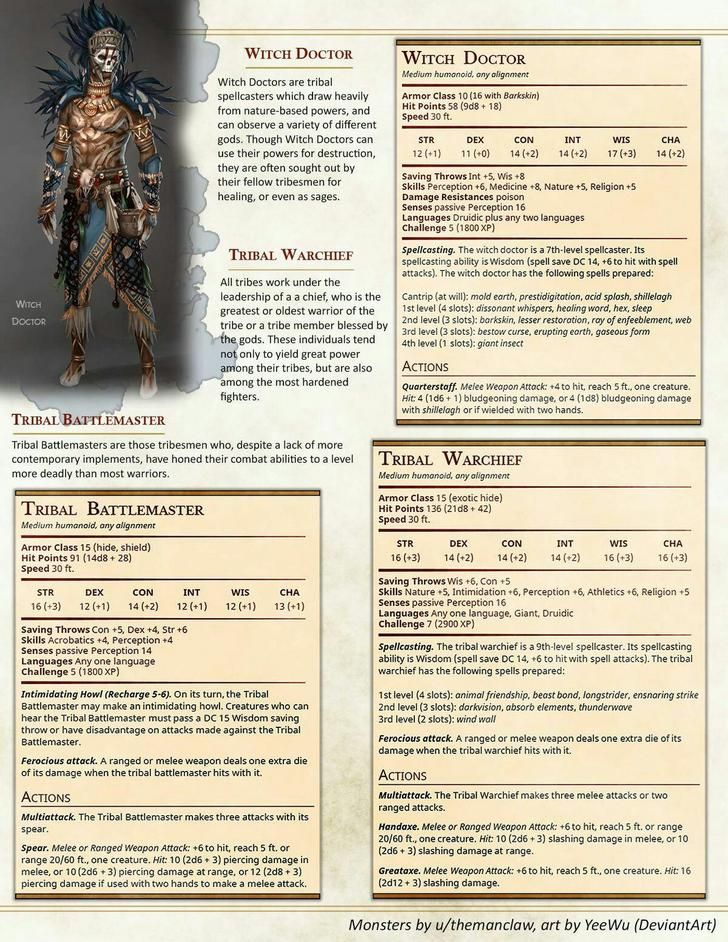 Here is even more D&D 5e homebrew  Have fun! | DnD in 2019