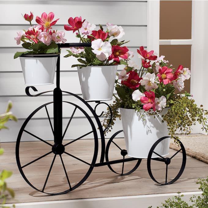 Metal Bicycle Planter Planters Planter Design Metal Plant Stand