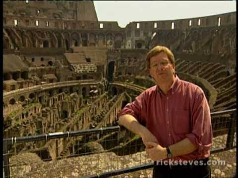 Rome:  Pantheon & Colosseum by Rick Steves:   Rome's ancient wonders are at tourists' fingertips when they visit the Eternal City. Step inside Rome's pantheon for a look at the splendor of ancient Rome, and marvel at the colossal Colosseum, Rome's greatest engineering feat.  http://www.youtube.com/watch?v=vknTH2E7-EI