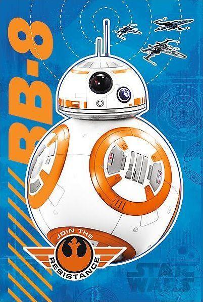 Svítící puzzle pro děti TREFL 60 dílků - Star Wars: BB-8 přichází