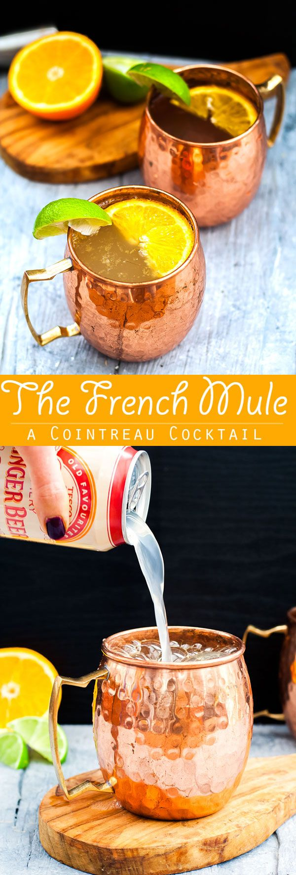French Mule Cocktail via @Slow The Cook Down