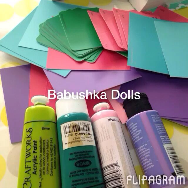 Babushka dolls in the making! Watch Here! http://flipagram.com/f/PbsxK8doXi