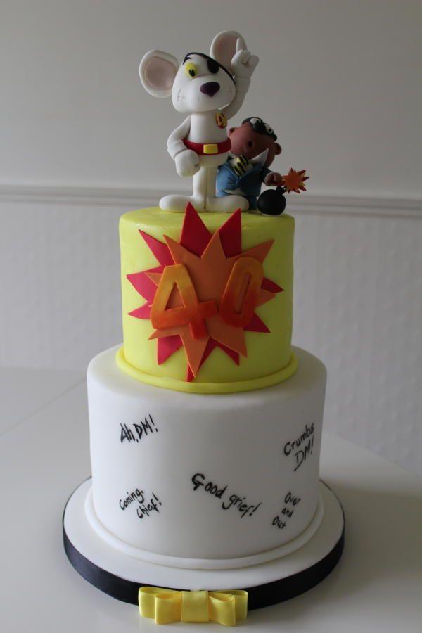 Danger Mouse 40th - Cake by The Skylark Bakery