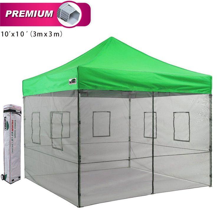 Premium Ez Pop Up Outdoor Food Service Canopy Tent Package Colors
