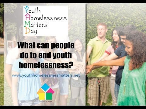 Youth Homelessness Matters Day 2017   Youth Homelessness Matters