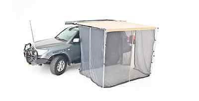 Car Roof Top Tent Camper Trailer 4x4 Pull Out Awning Mosquito Net Midgee Proof