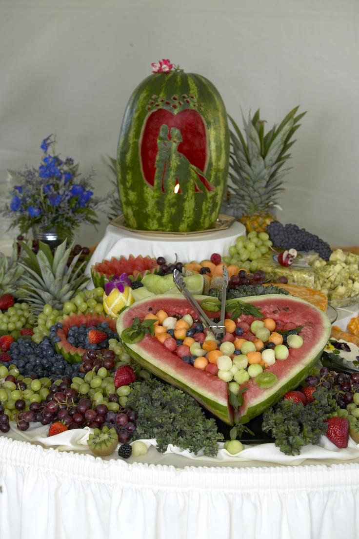 Watermelon wedding design.