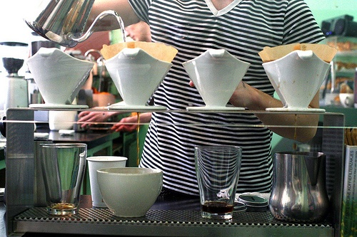 If you're a fan of pour over coffee, you'll enjoy this how-to from The Coffee Geek.