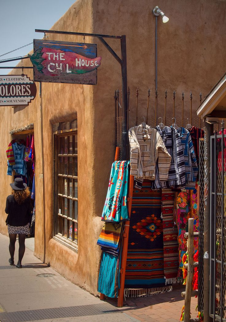 Chili House Gift Shop, Santa Fe, New Mexico