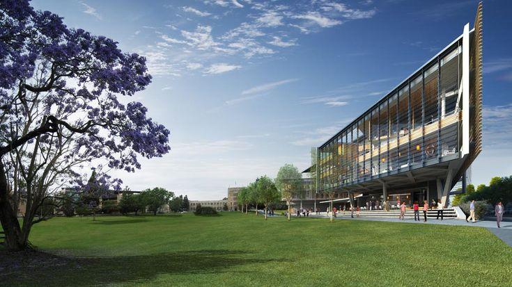 UQBS Render | Richard Kirk Architect