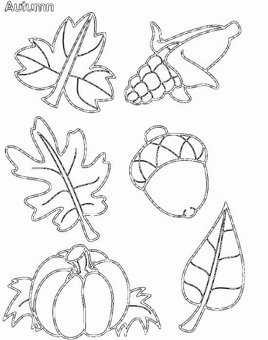 Letölthető őszi minták, sablonok - Színes Ötletek