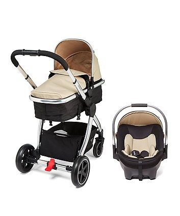 The mothercare journey comes compete with a coordinating group 0+ car seat and is all you need for every journey from birth to toddler.