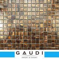 prezzo mattonelle di mosaico parete della cucina in vetro a basso costo