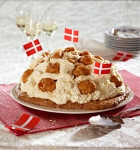 sportslagkage - en lagkage opfundet af La Glace (recipe in Danish)