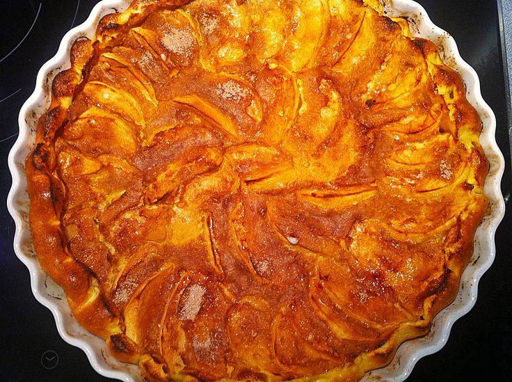 apfelpfannkuchen aus dem ofen rezept apfelpfannkuchen