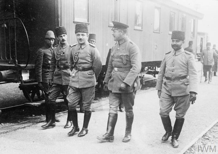 THE TURKISH ARMY ON THE EASTERN FRONT DURING THE FIRST WORLD WAR