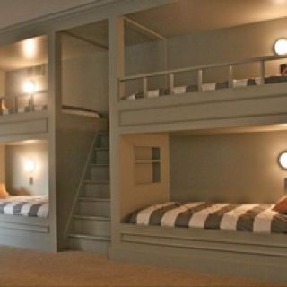 Built In Bunk Beds Quad Stairs Up Middle Cougar