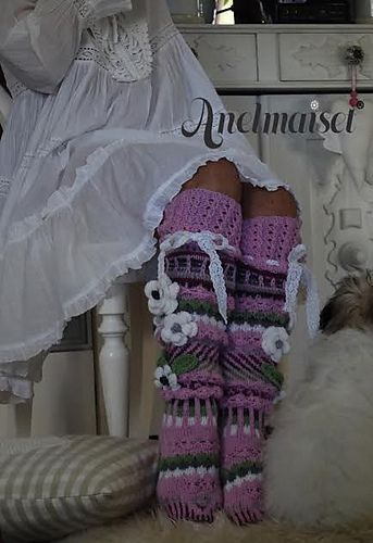 Ravelry: Pink Beauties pattern by Anelma Kervinen