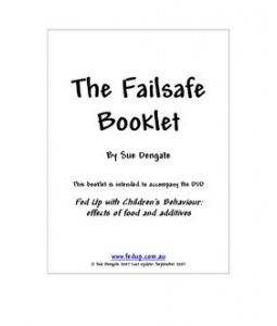 Printable Failsafe booklet