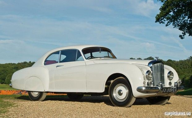 1952 Bentley Continental R-Type Fastback Sports Saloon by H.J. Mulliner