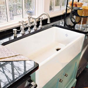 I'm in love with this amazing kitchen sink!! http://www.southernliving.com/m/home-garden/decorating/farmhouse-sink/colorful-contrast-sink