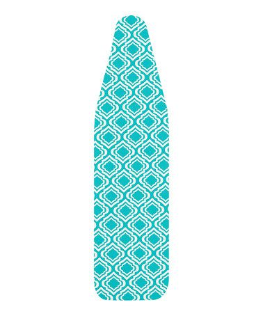Take a look at this Teal Modern Ironing Board Cover by The MacBeth Collection on #zulily today!