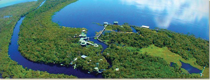 Amazon Rainforest Hotel | Ariau Amazon Towers Hotel | Rainforest near Manaus, Brazil - Leonide Principe photographer