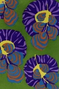 E.A. Seguy, color pochoir from the Floréal portfolio ca. 1920