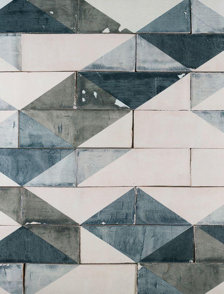 Going Overground ceramic wall tiles