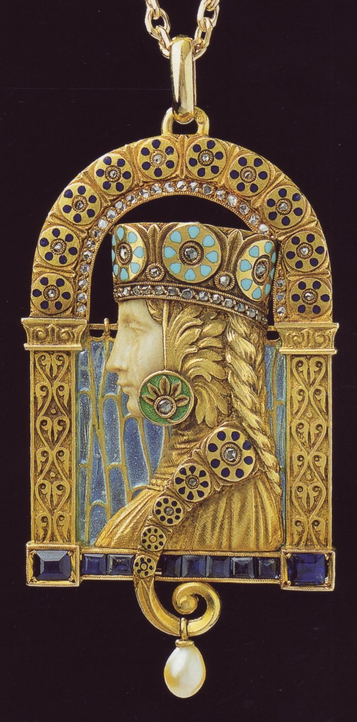 Spanish jewelry ~ in the Art Nouveau style. Luis Masriera (1872-1958)