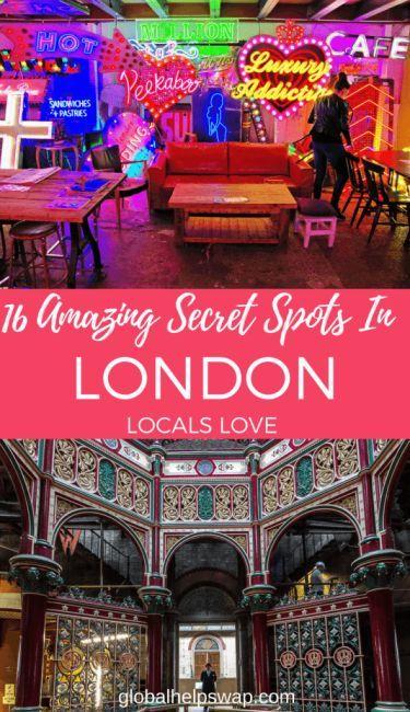 16 Amazing Secret Spots In London Locals Love – Marlene Lehmann