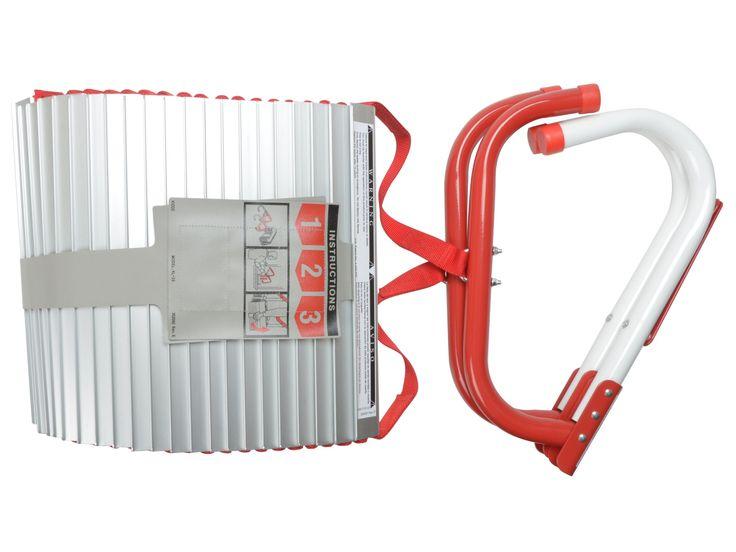 Kidde KL3S Feuerleiter, für 3 Stockwerke, 7,6 m: Amazon.de: Baumarkt