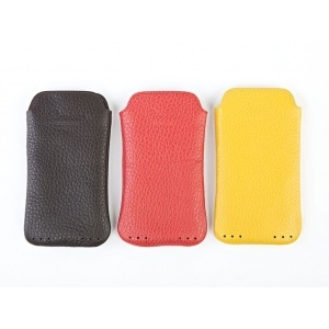 Soft leather iPhone cases for the iPhone 4. Handmade in Italy by Pineider craftsmen, they come in 3 gorgeous colours.  Giving one of these to your loved one will certainly give him a sense of Italian style.  £95 from www.luxuryartisan.com