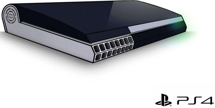 So sieht die PS4 aus: Mockup aus Playstation 4-Teaser gebastelt  Auch wenn heute die Schlagzeilen heute eigentlich Microsoft gehöre ...