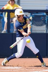 Michigan's Sierra Romero, powerhouse slugger and overall great softball player.