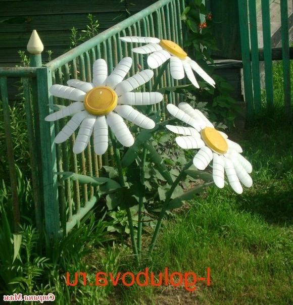 Все для украшения сада своими руками