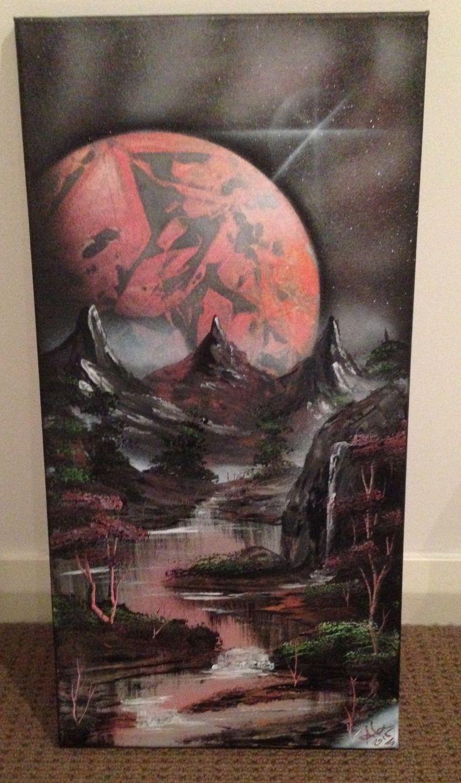 Unique hand painted art work