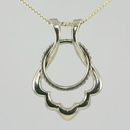 this would be a beautiful way to wear my original wedding ring - Wedding Ring Holder Necklace