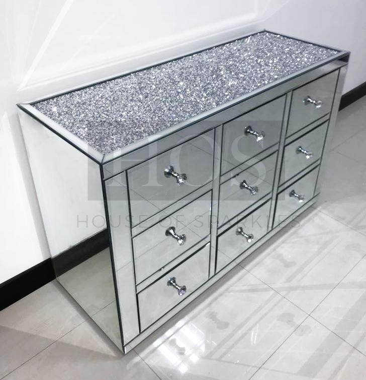 Glam Bedroom Decor, Home Sparkle Furniture