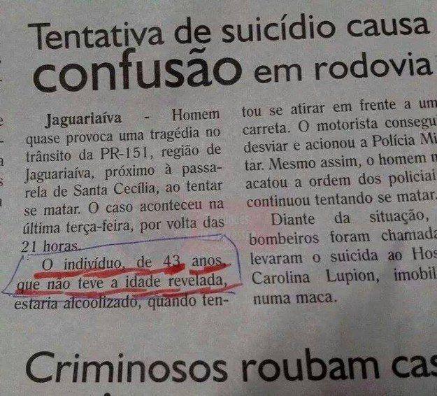 31 notícias mais engraçadas e confusas do jornalismo brasileiro