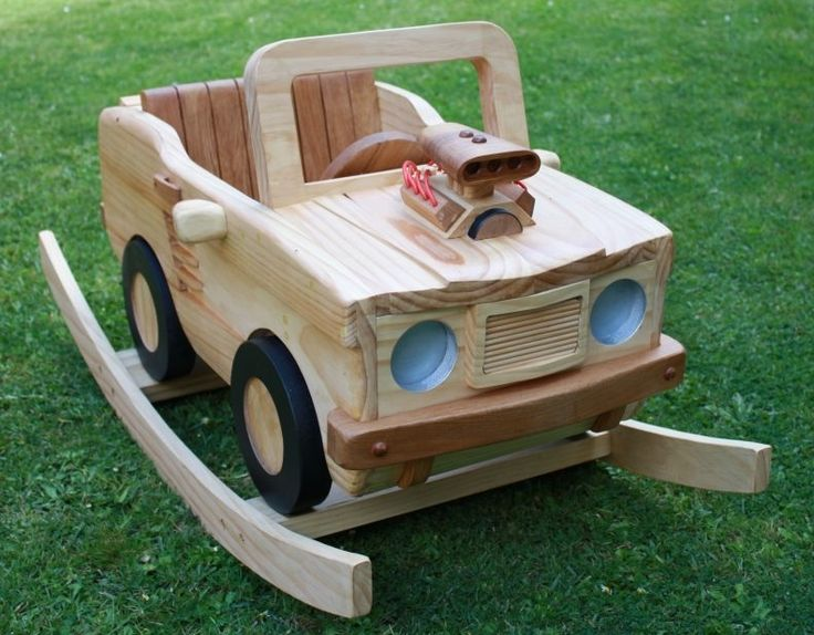Wooden Rocking V8 Muscle Car By StevesWoodenToys.deviantart.com On  @DeviantArt