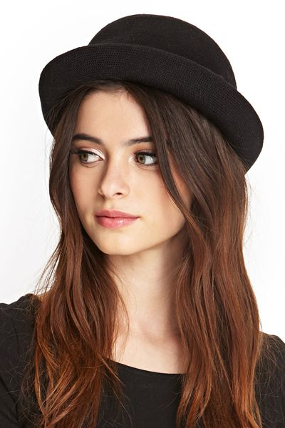 Romantic Grunge: Bowler Hat