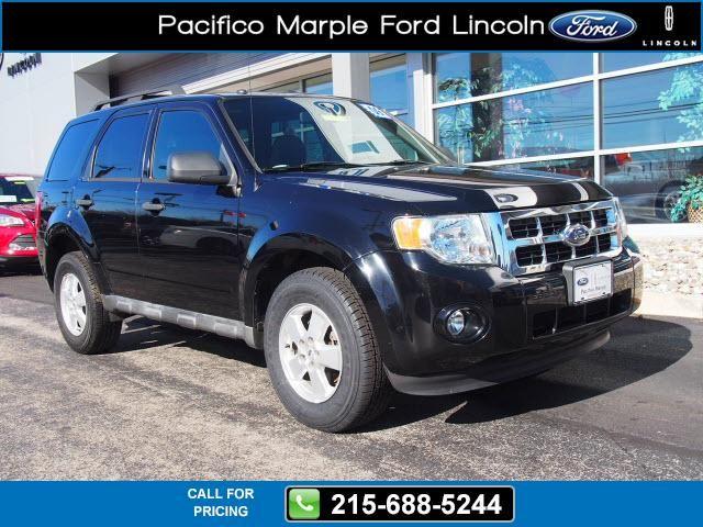 2009 Ford Escape XLT 63k miles Black $11,495 63144 miles 215-688-5244 Transmission: Automatic  #Ford #Escape #used #cars #PacificoMarpleFordLincoln #PikeBroomall #PA #tapcars